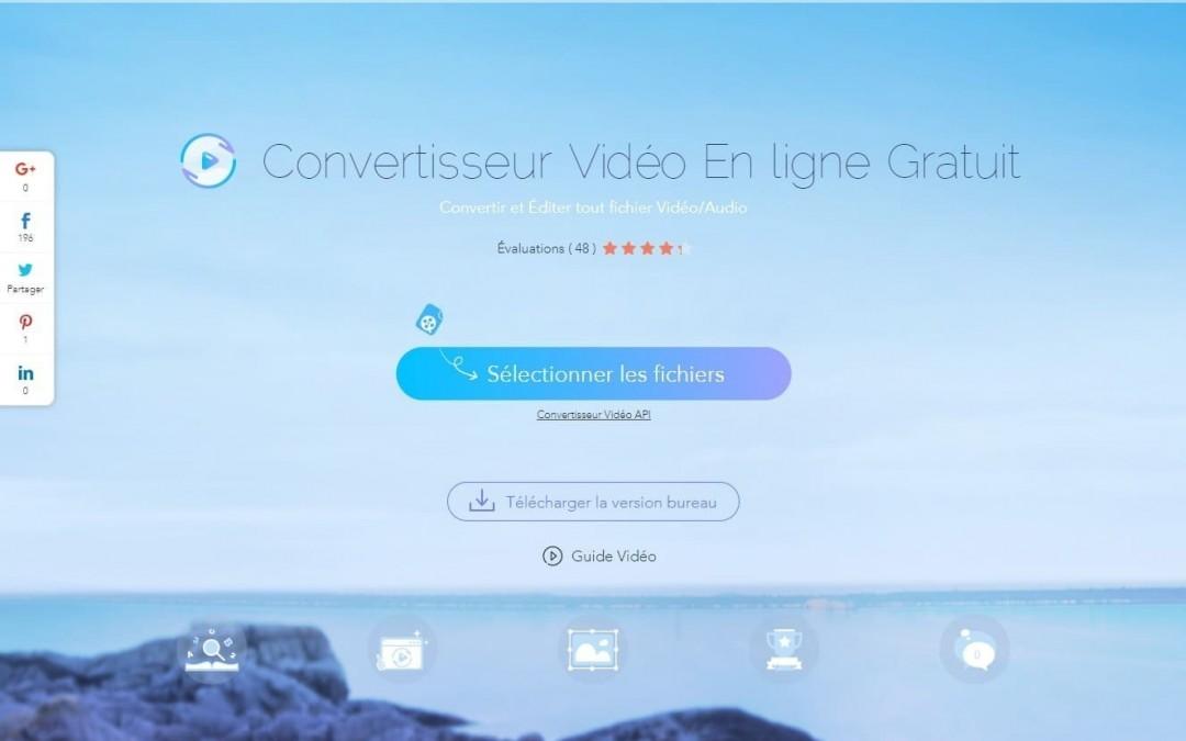 Nouvelle catégorie : outils en ligne, Apowersoft convertisseur de vidéos en ligne